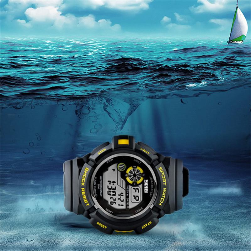 Часы спортивные противоударные водонепроницаемые SKMEI 0939 S-SHOCK ... fb498c21285