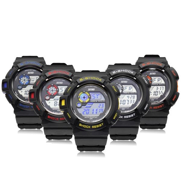 Часы спортивные противоударные водонепроницаемые SKMEI 0939 S-SHOCK (Скмей  0939) dd2756897a4